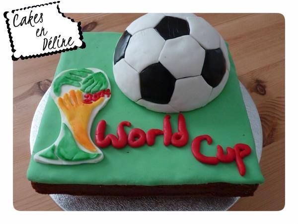 Gateau coupe du monde